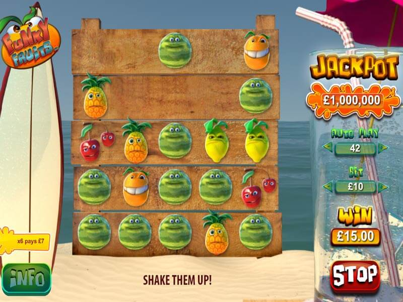 Funky Fruits Slot Machine: Play Online At Mybaccaratguide.com