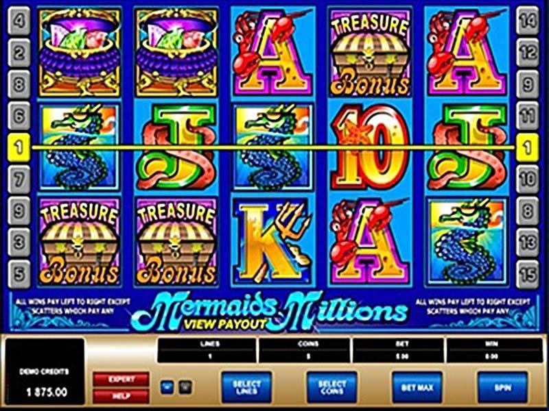 Mermaids Millions Slot Free Play At Mybaccaratguide.com