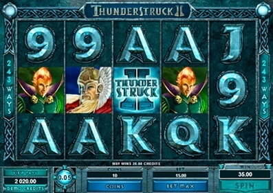 Play the Thunderstruck 2 Slot with No Download